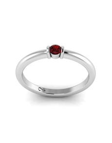 jewellery: WHY Silver Rhodolite Ring!