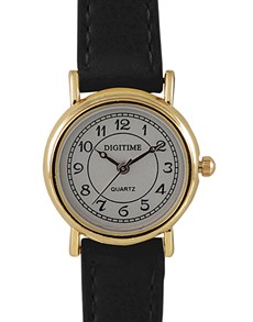 watches: Digitime Gold and Black Spice Ladies Watch!