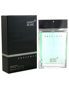 gifts: Mont Blanc Presence 75ml EDT!