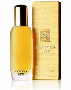 gifts: Clinique Aromatics Elixir 45ml!