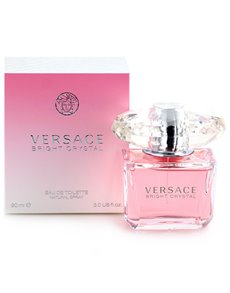 gifts: Versace Bright Crystal 90ml EDT (parallel import)!