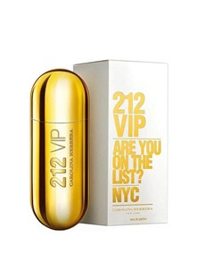 gifts: Carolina Herrera VIP EDT!