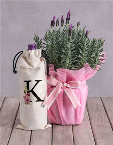 flowers: Personalised Lavender and Liquor!