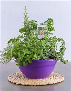 flowers: Bowl Of Kebab Herbs!
