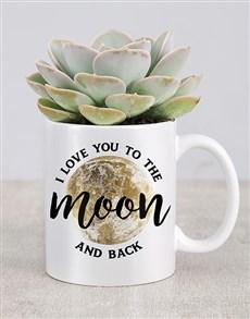 plants: I Love You To The Moon Mug!