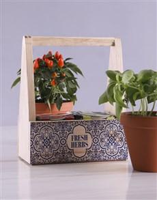 flowers: Fresh Herbs In Caddy!