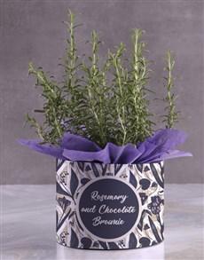 flowers: Rosemary Recipe Hatbox!