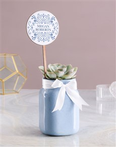 plants: Personalised Succulent Jar !
