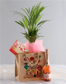 flowers: Areca Bamboo Planter And Goodie Tote Bag!