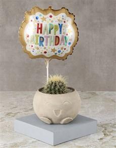 plants: Happy Birthday Cactus Surprise !