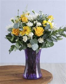 flowers: Pop of Colour Arrangement!