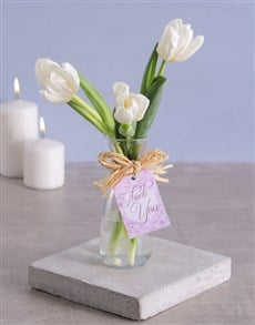 flowers: Thank You Tulips in Vase!