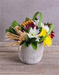 flowers: Summer Feels Spray Arrangement!