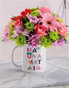 flowers: Hakuna Matata Mug!