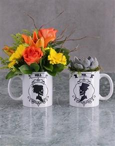 flowers: Skull Flower or Succulent Mug!