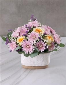 flowers: Cream Roses amongst the Stars!