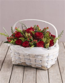 gifts: Basket of Rose Love!