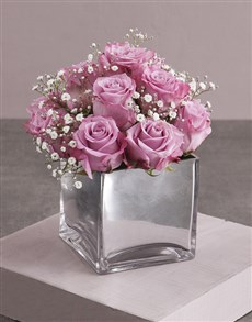 flowers: Lilac Roses and a Million Stars!