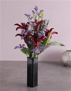flowers: Purple Enchant Lily Blossoms!