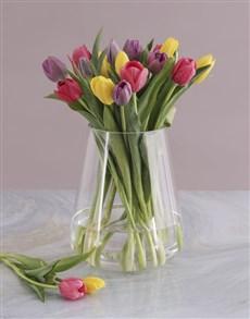 flowers: Tulip Variety Arrangement!