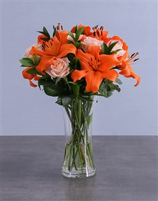 flowers: Sensational Orange Variety!
