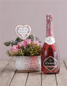 gifts: The Little Things Arrangement with Bubbly!
