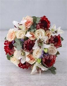 flowers: Moonlight Protea Blooms!