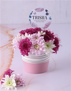gifts: Personalised Thank You Spray Pot!