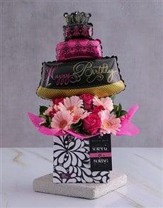 gifts: Personalised Birthday Balloon Arrangement!