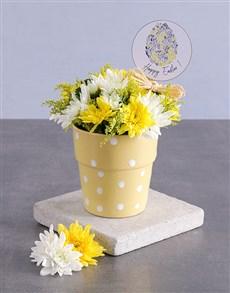 flowers: Happy Easter Spray Pot!