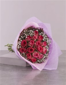 flowers: Classy Bunch Of Variegated Roses!