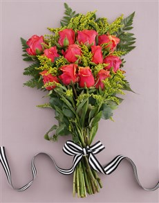 flowers: Magnificent Cherry Brandy Bouquet!