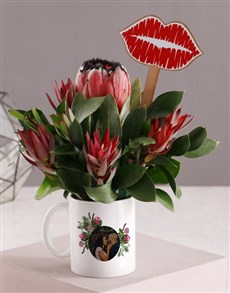 flowers: Personalised Blooming Flower Mug!