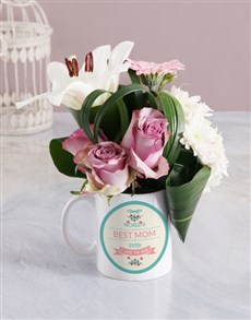 gifts: Best Mom Ever Flower Mug!