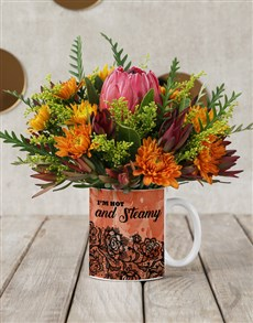 flowers: Blow Me Flower Mug!