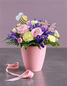 flowers: Spring Garden in a Pot !