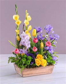 flowers: Bright and Bountiful Thinking Of You Arrangement!