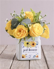 flowers: Sunrise Rose Sensations!