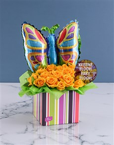 gifts: Bloom Baby Rose Arrangement!