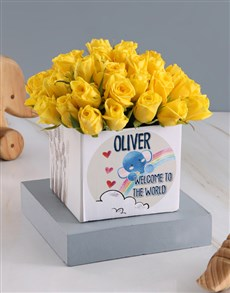 flowers: Welcome Sunshine Roses In Occasions Box Gift!