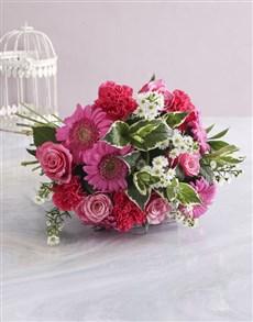 flowers: Pink Floral Sensations!