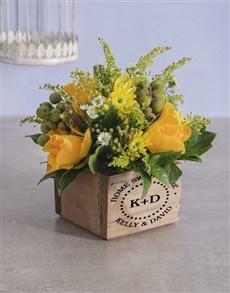 flowers: Personalised Home Sweet Mixed Flowers!