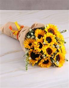 flowers: Sunny Day Sunflower Bouquet!