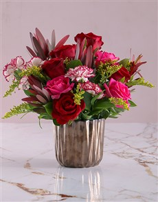 flowers: Charming Mixed Flower Blooms!