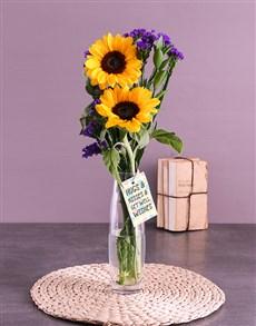 flowers: Make Their Day Sunflower Gift!