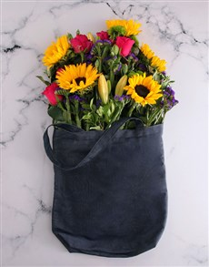 flowers: Lots Of Love Sunflower Surprise Gift!