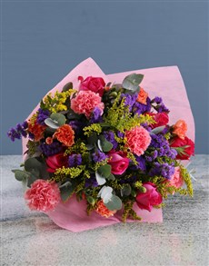 flowers: Enchanted Mixed Colour Delights!