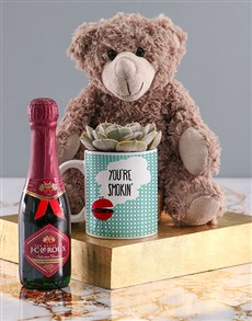 gifts: Youre Smokin Succulent In Mug!
