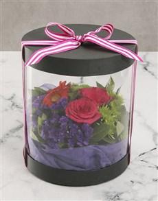 flowers: Happy Birthday Floral Mix Hat Box!