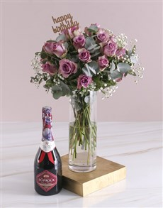 flowers: Happy Birthday Lilac Roses With JC Le Roux!